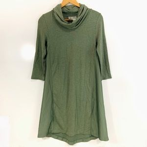 Anthro Saturday Sunday olive green swing dress